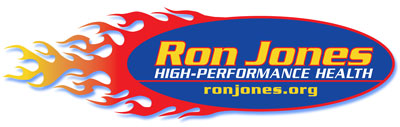 "RonJones.Org ""High-Performance Health"" Logo"